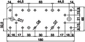 Spojky 65x180x2,5mm