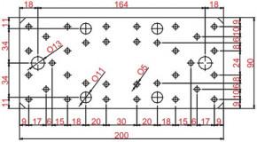 Spojky 90x200x3mm