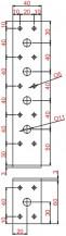 Kotevní úhelníky šířka 40mm