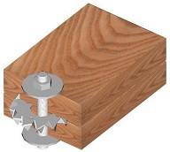 Spojky dřevěných prvků Buldog