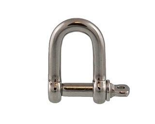 Zámky řetězu Nerez A4 DIN 82101D