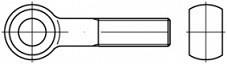 Šrouby s okem DIN 444B Nerez A2