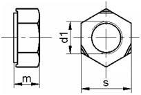 Navařovací matice DIN 929 Nerez A2