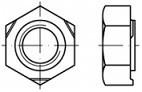 Navařovací matice DIN 929  Nerez A4
