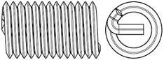 Závitové vložky DIN 8140 Nerez A2