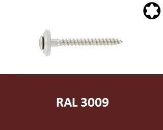 Klempířské vruty Nerez A2  RAL 3009