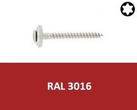 Klempířské vruty Nerez A2 RAL 3016