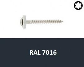 Klempířské vruty Nerez A2 RAL 7016