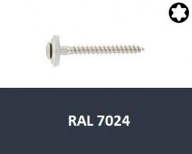 Klempířské vruty Nerez A2 RAL 7024