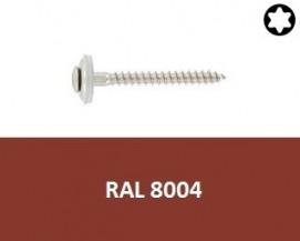 Klempířské vruty Nerez A2 RAL 8004