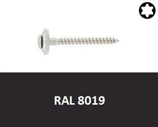 Klempířské vruty Nerez A2 RAL 8019
