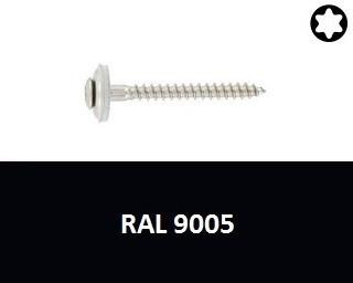 Klempířské vruty Nerez A2 RAL 9005