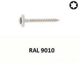 Klempířské vruty Nerez A2 RAL 9010