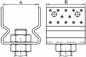 Stavitelné kotevní patky s prolisy