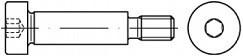 Lícované imbusové šrouby ISO 7379 Ocel 12.9 Bez povrchové úpravy