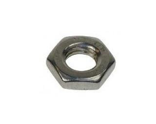 Nízké matice s jemným závitem DIN 439 Ocel 5 Bez povrchové úpravy