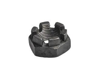 Nízké korunkové matice DIN 937 Ocel Bez povrchové úpravy