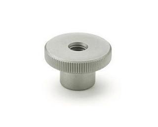 Vysoké rýhované matice DIN 466 Ocel 5 Zinek bílý
