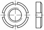 KM matice DIN 981 Ocel 14H Bez povrchové úpravy
