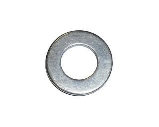 Podložky pro čepy bez sražené hrany DIN 1441 Ocel Zinek bílý