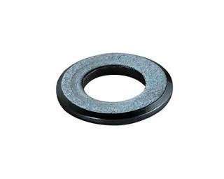 Ploché podložky se zkosenou hranou DIN 125B Ocel Bez povrchové úpravy
