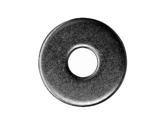 Podložky pod dřevěné konstrukce DIN 440R Ocel Bez povrchové úpravy