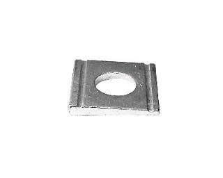 Klínové podložky pro U profily DIN 434 Ocel Zinek bílý