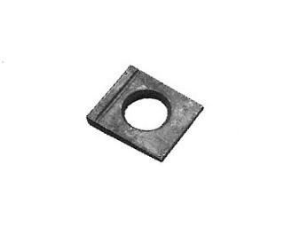 Klínové podložky pro I profily DIN 435 Ocel Bez povrchové úpravy