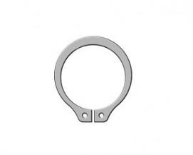 Pojistné kroužky na hřídel DIN 471 Nerez A1