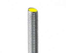 Pevnostní závitové tyče DIN 975 Ocel 8.8 Zinek bílý