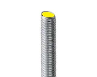 Pevnostní závitové tyče s jemným závitem DIN 975 Ocel 8.8 Zinek bílý