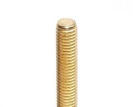 Závitové tyče DIN 975 Mosaz