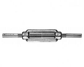 Napínače na lano k navaření DIN 1480 Ocel Zinek bílý