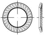 Pojistné podložky SCHNORR VS Ocel Bez povrchové úpravy