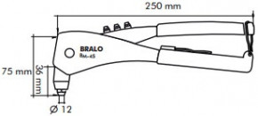 Nýtovací kleště BM-45