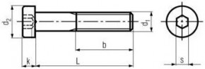 Imbusové šrouby s nízkou hlavou DIN 7984 Ocel 8.8 Zinek bílý