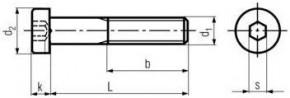 Pevnostní imbusové šrouby s nízkou hlavou DIN 7984 Ocel 10.9 Bez povrchové úpravy