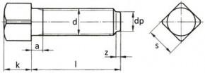 Upínací šrouby DIN 479 Ocel Bez povrchové úpravy