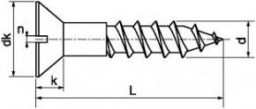 Univerzální zápustné vruty s drážkou DIN 97 Ocel Zinek bílý