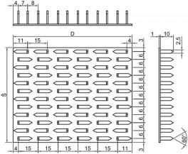 Styčníkové desky síla 1mm