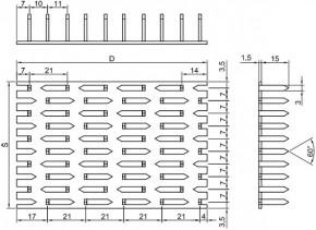 Styčníkové desky síla 1,5mm