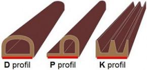 Těsnicí profily z EPDM pryže