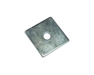 Čtyřhranné podložky pod dřevěné konstrukce DIN 436 Ocel Zinek bílý