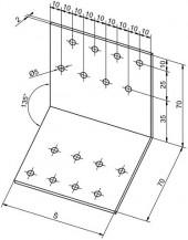 Spojovací úhelníky úhel 135°