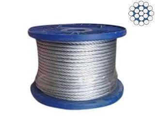 Jednopramenná ocelová lana