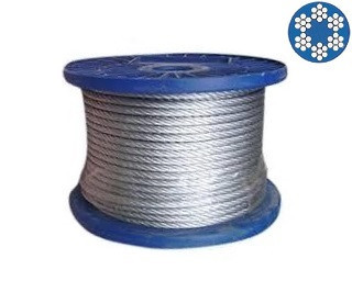 Ocelová lana v PVC