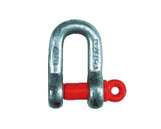 Vysokopevnostní zámky řetězu DIN 82101D Ocel Žárový zinek