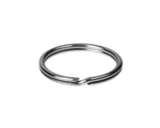 Kroužky na klíče Poniklovaná ocel
