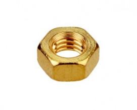 Standardní matice Ocel Žlutý zinek tř. 6 značeno 8 DIN 934