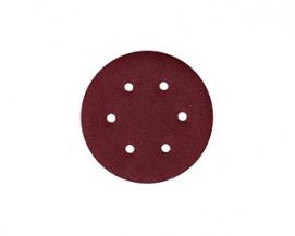 Brusné disky na suchý zip se šesti otvory